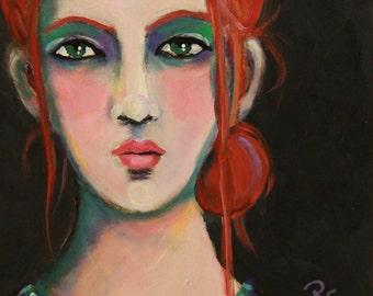 Alita- Original Portrait Painting