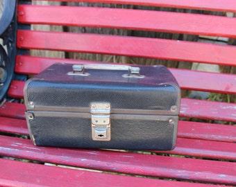 Vintage 1960's Era Black Doll Suitcase/Case