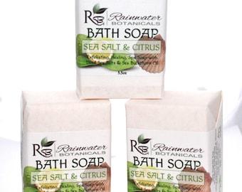 Dead Sea Salt and Citrus soap, Palm Free