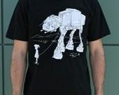 My Star Wars AT-AT Walker Pet men's graphic shirt, husband gift, boyfriend tee, gift for dad, dad t-shirt, star wars Christmas gift