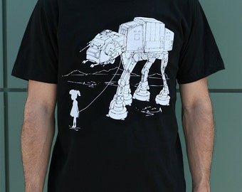 Father's day gift, My Star Wars AT-AT Pet men's graphic shirt, husband gift, boyfriend tee, gift for dad, dad t-shirt, funny fathers day