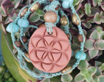 Seed of Life Oil Diffuser Necklace