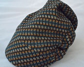 Building Blocks Baby Bike Cap from Upcycled Soft Cotton Knit for Bike Baby Gift