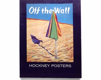 Off the Wall David Hockney Posters Large Format Paperback Book First Edition 1994