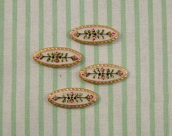 Spindle Buttons set of 4