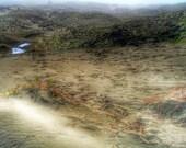 California Coast Landscape Photography, Ma-le'l Dunes, Fine Art Photography Print, Sand Dunes, Beach Home Decor, Rustic Wall Art, Salt Marsh