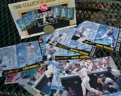 Post 1995 Collectors Series Folding Baseball Card Set
