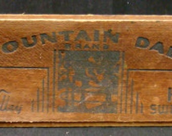 MOUNTAIN DALE BRAND Cheese Box
