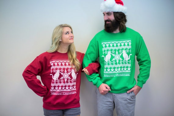 Christmas Ugly Christmas Sweater couples sweatshirts