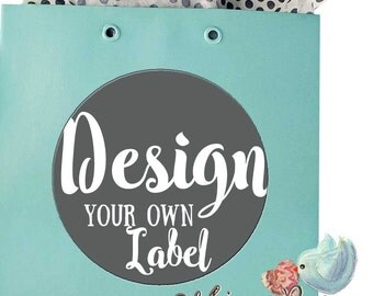 Design Your Own Solid Color Labels, Thank you Stickers, Address Labels, Party Favors