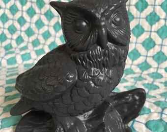 Vintage Owl statue