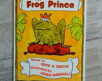 Vintage Scholastics Childrens Soft Cover Book, The Frog Prince Edith H. Tarcov, Grimm