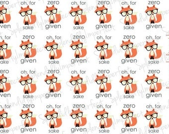 Pete the Fox Planner Stickers