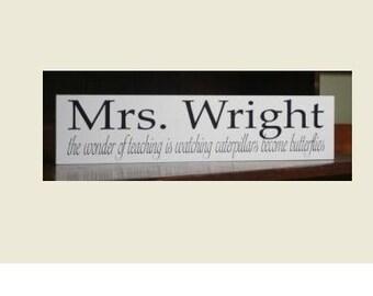 Teacher Gift Sign
