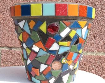 Mosaic Party Pot