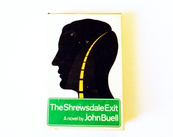1970s Vintage Mystery Novel / Vintage Book Decor / Fiction with Graphic Cover