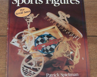 vintage 1994 woodworkers pattern library Sports Figures scroll saw patterns sc