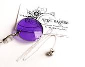 SILVER Purple Monocle