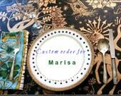 Custom order for Marias