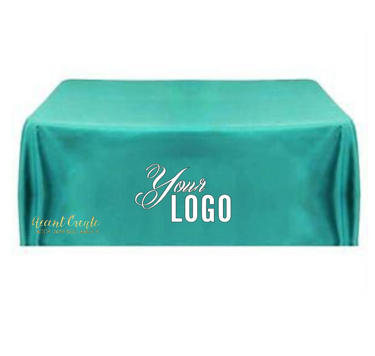 6ft Tablecloth Logo Personalized Table Cloth Vendor Events