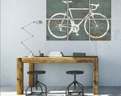 Custom Road Bike Print - Large Bicycle Wall Art - Office Decor - Kids Room Decor