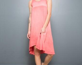 Summer cotton viscose dress