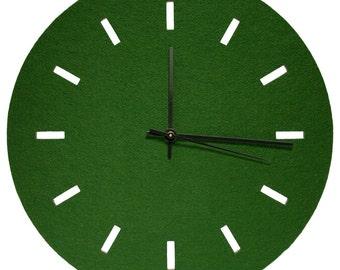 Plain Wool Felt Clocks