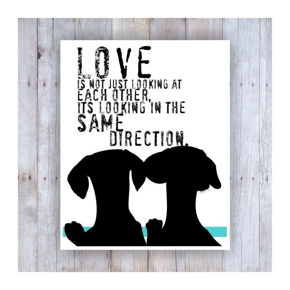 Dachshund Art Print, Dachshund Artwork, Dachshund Gift, Dachshund Home, Dachsund Print, Weiner Dog Art, Sausage Dog Print, Dachshund Wedding
