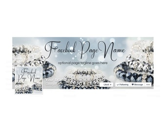 30% OFF SALE Timeline Cover and Profile Picture - Facebook Timeline Cover - Facebook Cover - Jewelry Facebook Cover - Jewelry 8