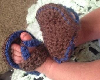 Baby Flip Flop Strap Sandals
