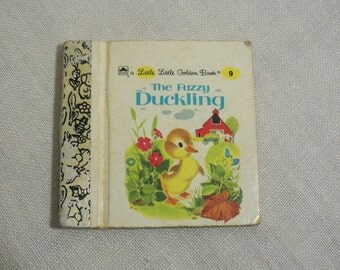 Vintage Little Little Golden Book - The Fuzzy Duckling