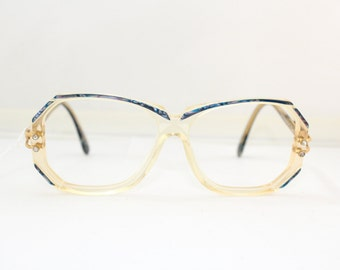 80s Vintage CAZAL Eyeglasses Vintage 1980s Designer Frames Germany Model # 189 #rh 812