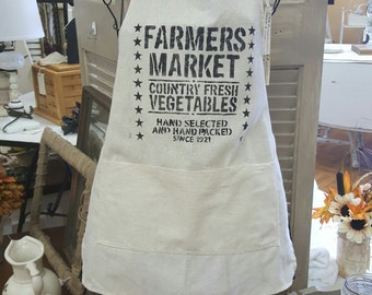 Farmers market apron