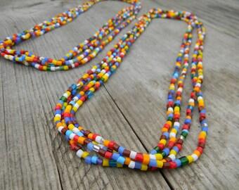 Czech Glass Layering Necklace Set