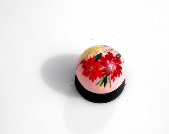 Vntage Bakelite Carnation Perfume Container - Made in France ~  Concreta