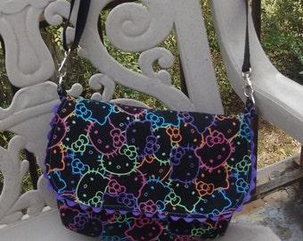 Hello Kitty Sling Bag   Adjustable  Crossbody   Sanrio
