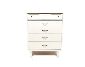 Vintage Highboy In Heavy Cream