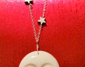 Famous Collection  *Good Night Moon*.......Carved Bone Face