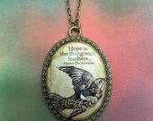 Hope Cameo Necklace