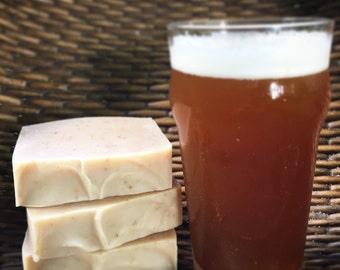 Rye IPA Beer Soap - Artisan Soap, Handmade Soap, Shampoo Soap Bar