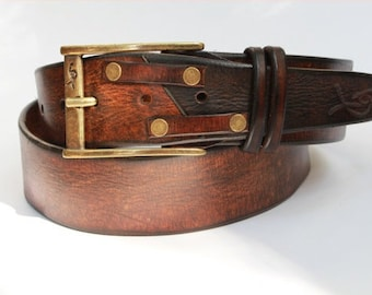 Men's Belts, Accessories for Him, Rocker Fashion, Leather Belts, Leather for Him, Men's Leather Belt, Hipster Style, Crafted Belt, His Belt