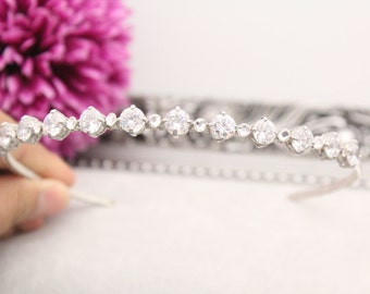 Swarovski headband,Rhinestone headband,Wedding headband,Bridal hair piece,Wedding hair accessories,Wedding hair jewelry,Bridal headpiece