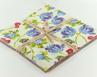 Floribella 10 Inch Stacker(Layer Cake) by Emily Taylor for Riley Blake Fabrics