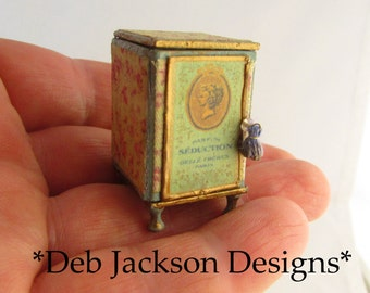 From *DJD* French style perfume case and vanity accessories.