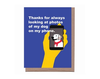 Dog Photos Card