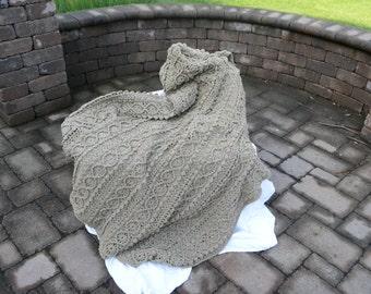 Crocheted afghan, Handmade, Crocheted blanket, Adult blanket, Ready to ship