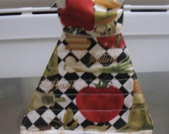 Kitchen Hanging towel-Bright RedTomatos