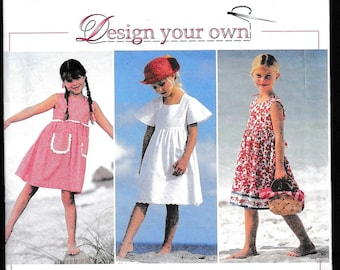 Simplicity 9562 Design Your Own Child's Dress