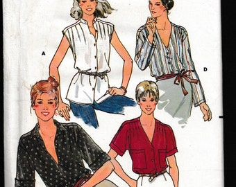 Quick, Butterick 6531 Loose Fitting Blouse