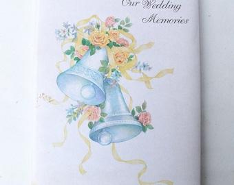 Vintage Wedding Diary - Memories, Token, Album, Mementos, Scrapbook, Gift